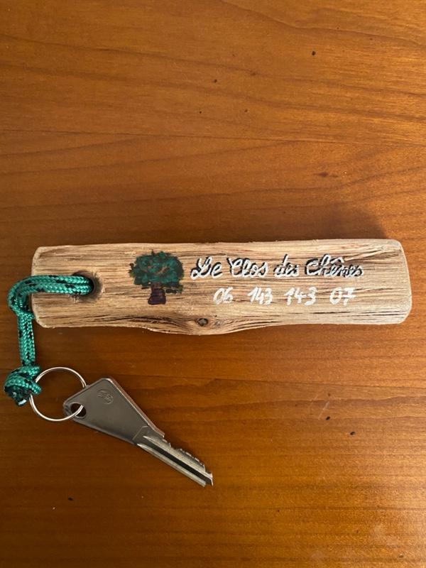 La clef de votre chambre