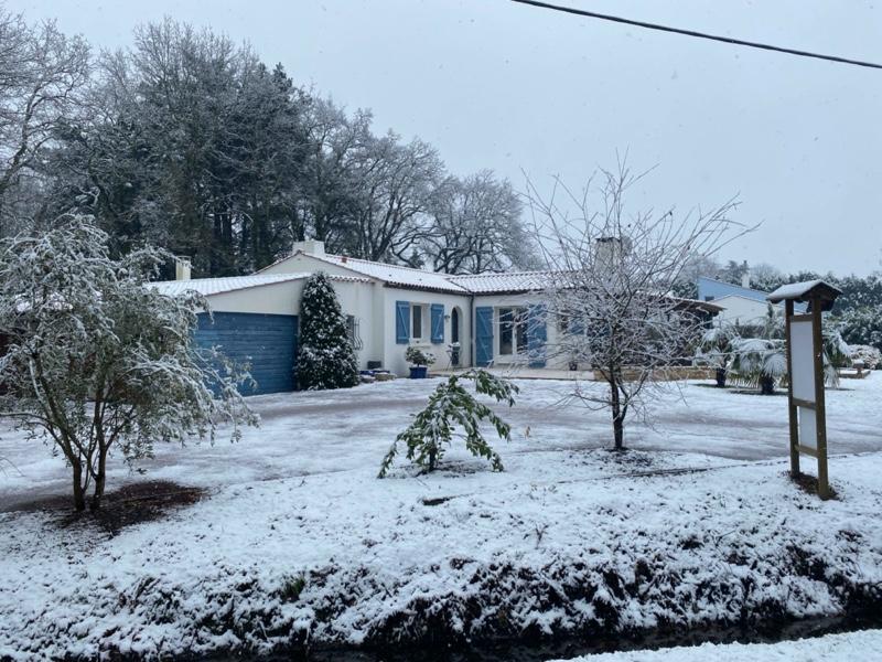 Un dimanche sous la neige !!