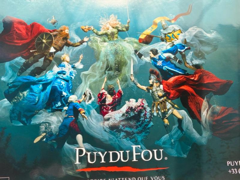 Affiche du Puy du Fou